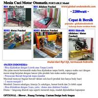 Jual Alat Mesin Cuci Pembersih Mobil Dan Motor Otomatis (Paten Indonesia) Lokal 2
