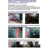 Alat Mesin Cuci Pembersih Mobil Dan Motor Otomatis (Paten Indonesia) Lokal 1