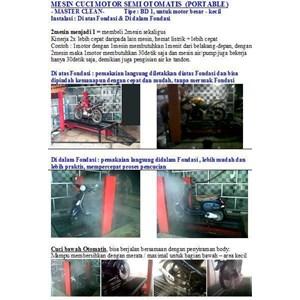 Alat Mesin Cuci Pembersih Mobil Dan Motor Otomatis (Paten Indonesia) Lokal