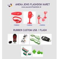 Barang Promosi Perusahaan Aneka Flashdisk Custom Promosi Jenis Karet Rubber Ada Cabang Di Jakarta Bekasi Yogyakarta