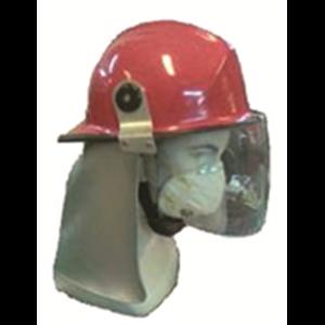 Helm Pemadam Bahan Fiber Glass