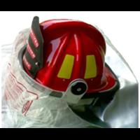 Helm Pemadam Bahan Fiber Glass Tipe USA 1