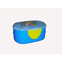 Kotak Makan becky lunch box biru