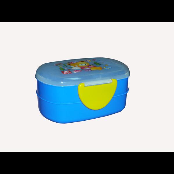 Kotak Makan becky lunch box biru