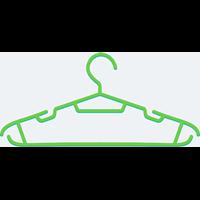 Jual gantungan baju 012