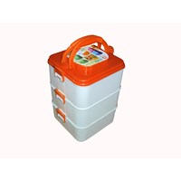 Rantang sasha food carrier susun 3