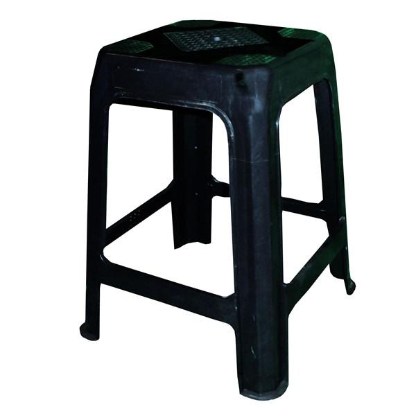 Kursi Plastik bangku bakso madrid hitam
