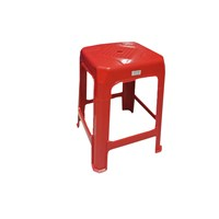 Kursi Plastik bangku bakso madrid merah