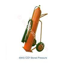 Tabung Pemadam Karbon Dioksida Co 2 Trolley Chubb