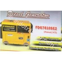 Diesel Generator Firman Tipe Fdg7700se2