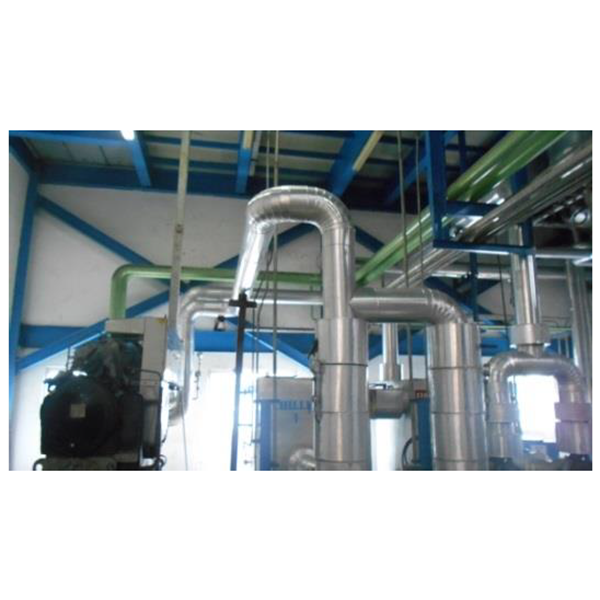 Insulation Jalur Pipa Chiller