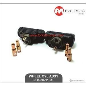 WHEEL CYLINDER ASSY FORKLIFT KOMATSU FD30-11 PART NO 3EB-30-11310