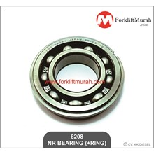 BEARING (+RING) FORKLIFT TOYOTA PART NO 6208 NR-- 33381-23000-71