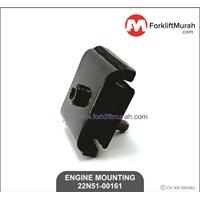 ENGINE MOUNTING FORKLIFT TCM PART NO 22N51-00161