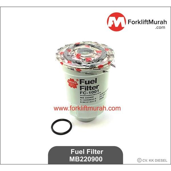 FUEL FILTER FORKLIFT TCM PART NO MB220900 -- 20801-02141