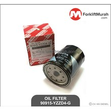 OIL FILTER FORKLIFT TOYOTA PART NO 90915-YZZD4-G -- 90915-20004-G