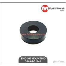 ENGINE MOUNTING FORKLIFT KOMATSU PART NO 304-01-31140