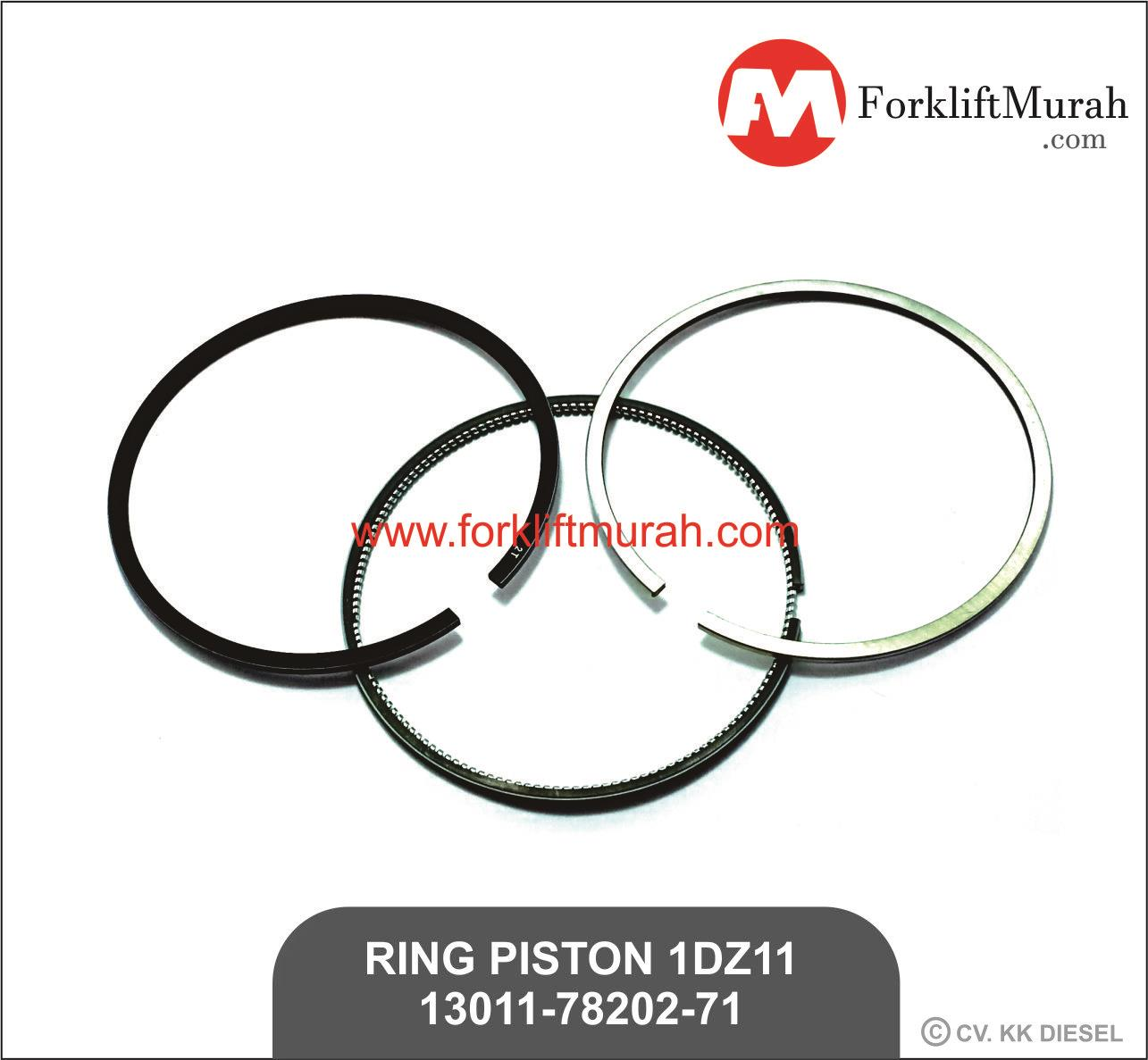 Jual Ring Piston 1dz11 Forklift Toyota Part No 13011 78202