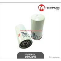 FILTER OIL FORKLIFT NISSAN PART NO 15209-Y7502