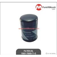 FILTER OIL FORKLIFT TOYOTA PART NO 15601-76009-71-G
