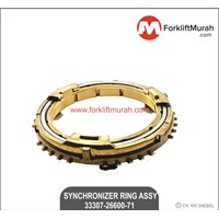 SYNCHRONIZER RING ASSY FORKLIFT TOYOTA PART NO 33307-26600-71