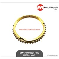 SYNCHRONIZER RING FORKLIFT TOYOTA 45T PART NO 33368-31960-71