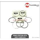 RING PISTON STANDARD FORKLIFT MITSUBISHI PART NO 34417-02012-G 2