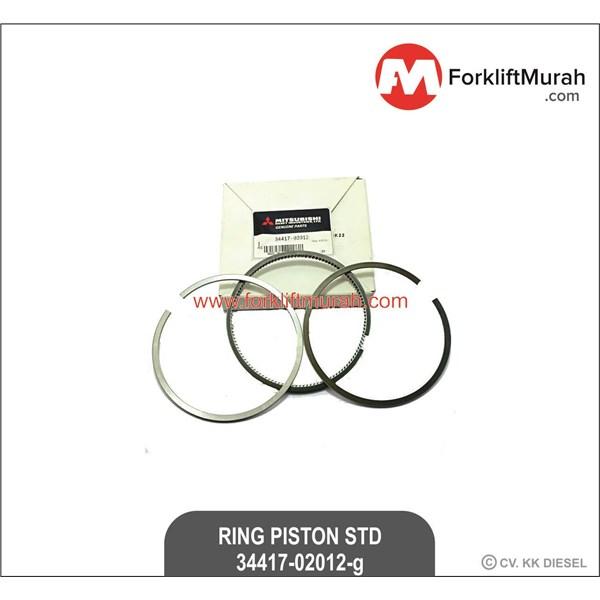 RING PISTON STANDARD FORKLIFT MITSUBISHI PART NO 34417-02012-G