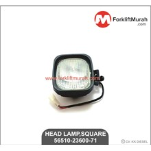 HEAD LAMP SQUARE H3-12V FORKLIFT TOYOTA PART NO 56