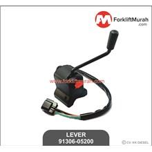 LEVER FORKLIFT MITSUBISHI PART NO 91306-05200