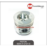PISTON FORKLIFT KOMATSU PART NO 6204-31-2121-G