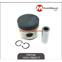 PISTON ASSY WITH PIN FORKLIFT TOYOTA PART NO 13101-78202-71