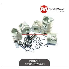 PISTON FORKLIFT TOYOTA PART NO 13101-78760-71