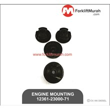 ENGINE MOUNTING FORKLIFT TOYOTA PART NUMBER 12361-23000-71