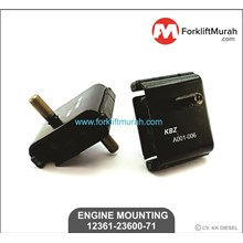 ENGINE MOUNTING FORKLIFT TOYOTA PART NUMBER 12361-23600-71