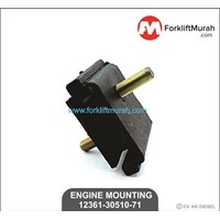 Jual ENGINE MOUNTING FORKLIFT TOYOTA PART NUMBER 12361-35010-71
