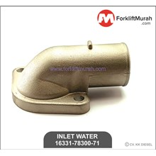 INLET WATER 5-6FD30 1Z FORKLIFT TOYOTA PART NUMBER 16331-78300-71