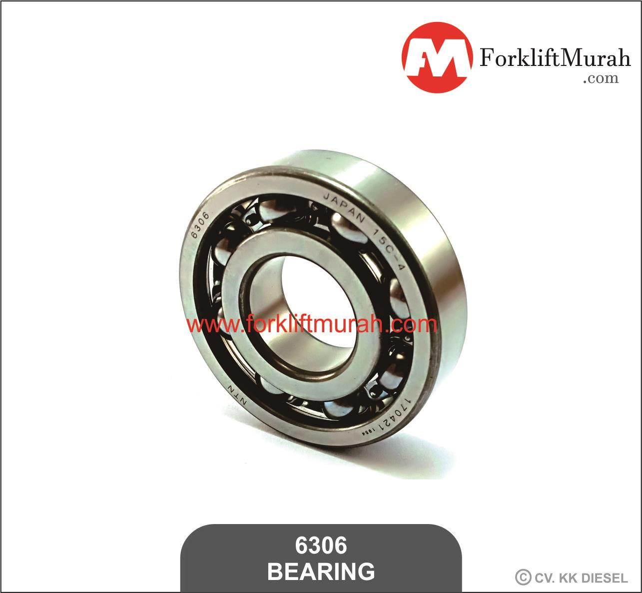 Jual Bearing Laker Forklift Part Number 6306 Harga Murah