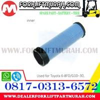 Jual FILTER UDARA (DALAM) FORKLIFT TOYOTA 8FD30 2