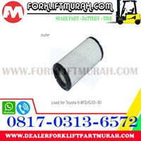 Jual FILTER UDARA (LUAR) FORKLIFT TOYOTA 8FD30 2