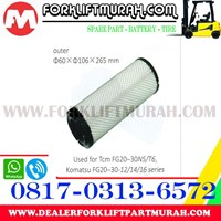 Distributor FILTER UDARA (LUAR) FORKLIFT KOMATSU FG20~30 -12 / -14 / -16 SERIES 3