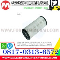 FILTER UDARA (LUAR) FORKLIFT TCM FD35-50 (C8 / T9) FD50-100 Z8 1