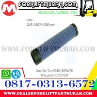 Jual FILTER UDARA (DALAM) FORKLIFT TCM FG20-30N5(T6) 2