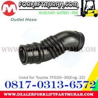 Distributor HOSE FORKLIFT TOYOTA 7FD20 30 3