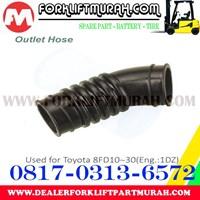 Distributor HOSE TOYOTA FORKLIFT 8FD10 30 ENG 1DZ 3