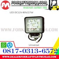 Jual LAMP ASSY FORKLIFT OLD LED DC12V 80V 27W 2