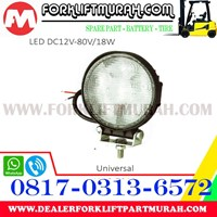 Distributor LAMP ASSY LED FORKLIFT DC12V 80V 18W 3