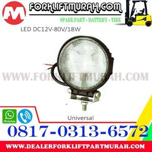 LAMP ASSY LED FORKLIFT DC12V 80V 18W