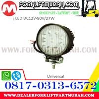 Jual LAMP ASSY FORKLIFT LED NEW DC12V 80V 27W 2