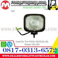 Jual LAMP ASSY FORKLIFT TCM FD10 30 12V 2